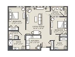 104 Two Bedroom Apartment Design D 1 100 Sq Ft Kendal At Ithaca