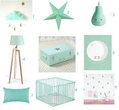 ladaire chambre bébé inspiration déco du mint pour la chambre de bébé summer