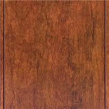 Hardwood Floor Scraper Home Depot by Trafficmaster Hand Scraped Saratoga Hickory 7 Mm Thick X 7 2 3 In