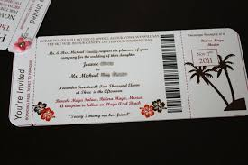Joannes DIY Boarding Pass Invitations With Photos And Template