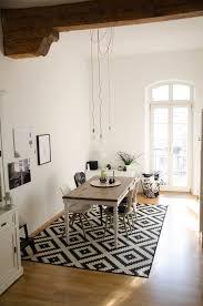 wintersonne esszimmer teppich teppich esszimmer