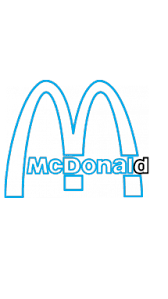 How To Draw McDonalds Company Logo Step By 13