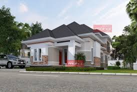 100 Bungalow Architecture Contemporary Nigerian Residential Briggs House