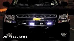 100 Strobe Light For Trucks LED Emergency Vehicle Warning Grille Economical Setup