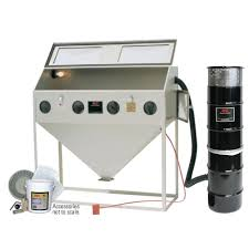 Abrasive Blast Cabinet Gloves alc 60 in abrasive blaster cabinet with starter kit 4041310 the