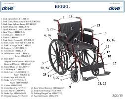 Medline Transport Chair Instructions by Rebel Lightweight Wheelchair Drive Medical
