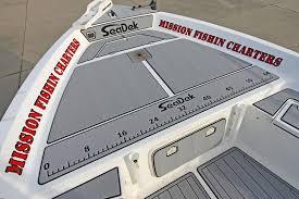 Non Skid Boat Deck Pads by Custom Seadek On A 24 U2032 Sea Pro Bay Boat Seadek Marine Products