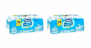 Bottled Water Case Nestle Pure Life Only 2 Per Count