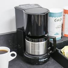 Conair Cuisinart WCM08B 4 Cup Coffee Maker Black With Stainless Steel Carafe
