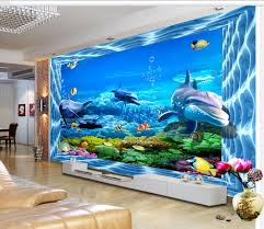 fototapete aquarium wand und wandgemälde nr dec 7593 uwalls de
