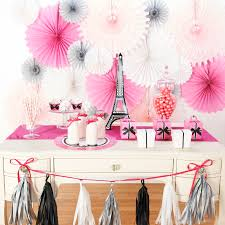 Easy DIY Ways To Spruce Up Your Party Space Paris Damask Table Decor LS