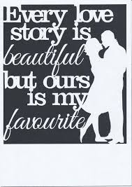 Ever Love Story Is Beautiful But Ours My Favorite Paper Cut Template Cutting Art Templates Simple