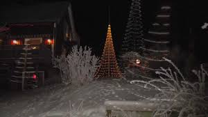 FLAG POLE CHRISTMAS TREE From Montejaur