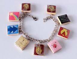 Scrabble Tile Value Change by Gravity Falls Inspired Scrabble Tile Charm Bracelet
