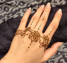Gallery Of Latest Easy Henna Design Help To Draw Designs With How Mehndi On Hand