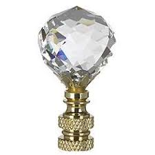 Square Crystal Lamp Finials by Finials Lamp Shades Lamps Plus