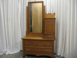 Tiger Oak Dresser With Swivel Mirror by Furniture Fascinating Mirror From Uk For Sale Antiques Picture