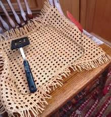Recane A Chair Seat by Red Hen Home Replacing A Cane Seat My Way