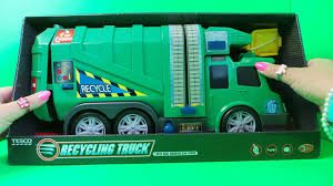 DICKIE TOYS RECYCLING GARBAGE TRUCK UK TOY UNBOXIhttps://www.youtube ...
