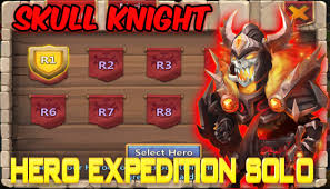 Castle Clash Pumpkin Duke Best Traits by Castle Clash Skull Knight Solo Action Youtube