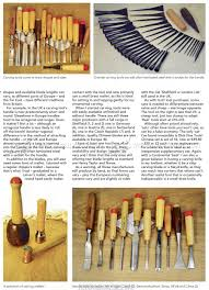 basic carving tools u2022 woodarchivist
