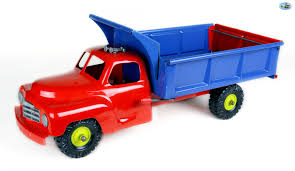 Awesome Restored Vintage 1950s Marx Tonka Pressed Steel Dump Truck ...