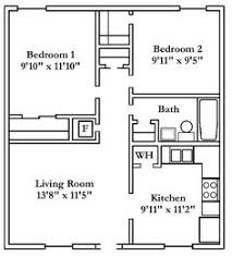 Bedroom Condo Floor Plans Photo by 1 Bedroom House Plans Floor Plans House Cabin