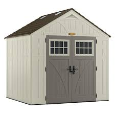 4x6 Wood Storage Shed by Plastic Sheds Sheds The Home Depot