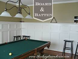 Diy Board And Batten Wainscoting Beautiful Dining Room Perspective Looking
