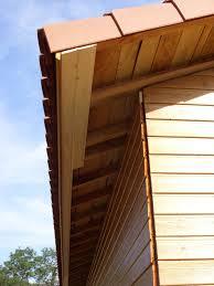 lambris pvc sous toiture revêtements modernes du toit