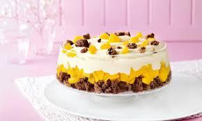 aprikosen pudding trifle
