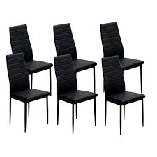 IDS Home Dining Chairs Set For 6 Dining Room Chairs With Cushion High Back  Support - 8' X 10' French Highback Ding Chairs Beautifully Designed Louis Xv High Back Ding Chairs Beech Wood Late 19th Century Sku 9622 Whtear Reproduction Fniture Arden Chair Skyline John Lewis Partners Tropez Set Of Six Mid Modern Walnut Dramatic 5 Kamron Tufted Upholstered Faye Grey Faux Leather Pair With Chrome Legs Lssbought Fabric 2 Gray