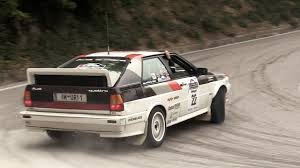 Audi Quattro Group B 5 Cylinder Engine Sound