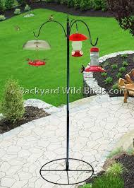Patio Bird Feeder Pole Station