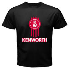 New KENWORTH TRUCKS KW Classic Racing Logo T-shirt