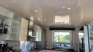 neue küchendecke in oberhausen plameco spanndecke in weiß