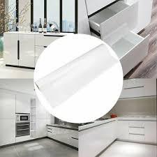 de 5m 10m weiß hochglanz möbelfolie klebefolie küchenfolie