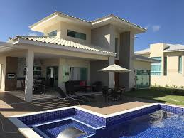 100 Modern House 3 In Barra Do Jacupe At 180m From The Beach Barra Do Jacupe