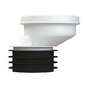 Viva WC Toilet Offset Pan Connector - 40mm