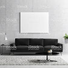mockup poster schwarz weißkonzeptwohnzimmer stockfoto und mehr bilder aktenmappe