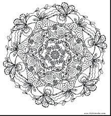 Printable Mandala Coloring Pages Adults Free Print Mandalas To And Color