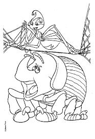 coloriage a imprimer 1001 pattes l araignee tisse sa toile gratuit