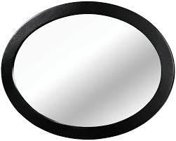 Zayley Dresser And Mirror by Lennart Ii Black Oval Mirror