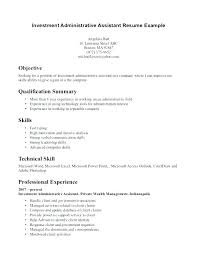 Clerical Cover Letter Assistant Resume Objective For Admin Legal Administrative Sample Template