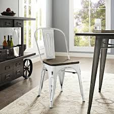 Details About Industrial Modern Tolix Style Bamboo Seat White Aluminum  Dining Chair Amazoncom Nuevo Soho Alinum Ding Chair Chairs Mayakoba Outdoor In White Textilene Set Of 2 By Zuo Darlee Nassau Cast Patio Chairultimate Room Modway Eei3053whinav Stance Contemporary Ding Chair With Armrests Stackable Navy Metal Emeco Restaurant Coffee Blue Indoor Galvanized Galvanised 11 Piece America Luxury 11577 Modern Urban Design Myrtle Beach Shiny Copper Finished Hot Item Textile Glass Garden Sling Table Hotel Project Fniture