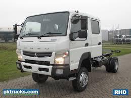 Fuso Mitsubishi Canter 6C18D RHD 4x4 Chassis cabin pk trucks Holland