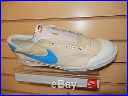 Vintage Nike 1978 Canvas Tennis Shoes Size 13 OG Blue Taiwan Rare Original Mens