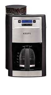 KRUPS KM785D50 Grind Brew Automatic Coffee Maker Black