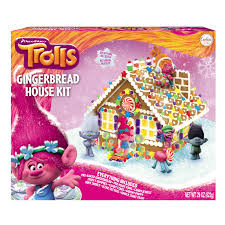 Meijer Home Wall Decor by Trolls Gingerbread House Kit 29 Oz Meijer Com