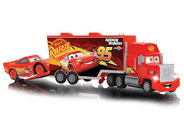 Dickie 203088002038 - Cars 3 RC LIGHTNING MCQUEEN WITH Mack Truck ...